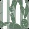 Шезлонг Eva Pro Green Cactus