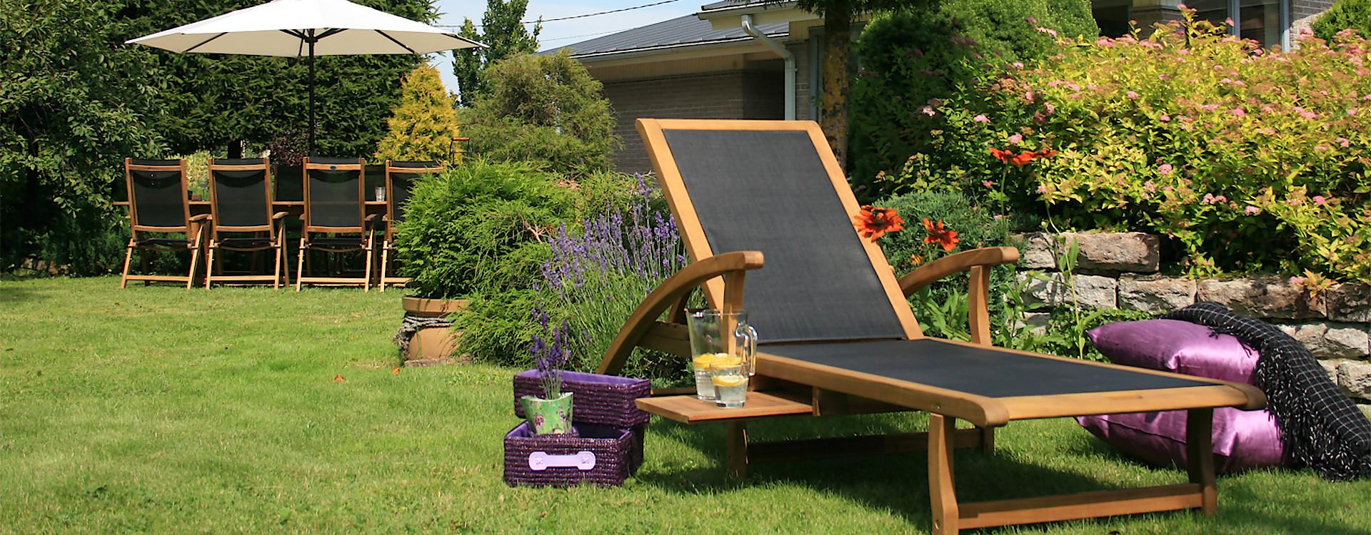 Купити в Україні садові шезлонги Garden4You за вигідною ціною гуртом та в роздріб