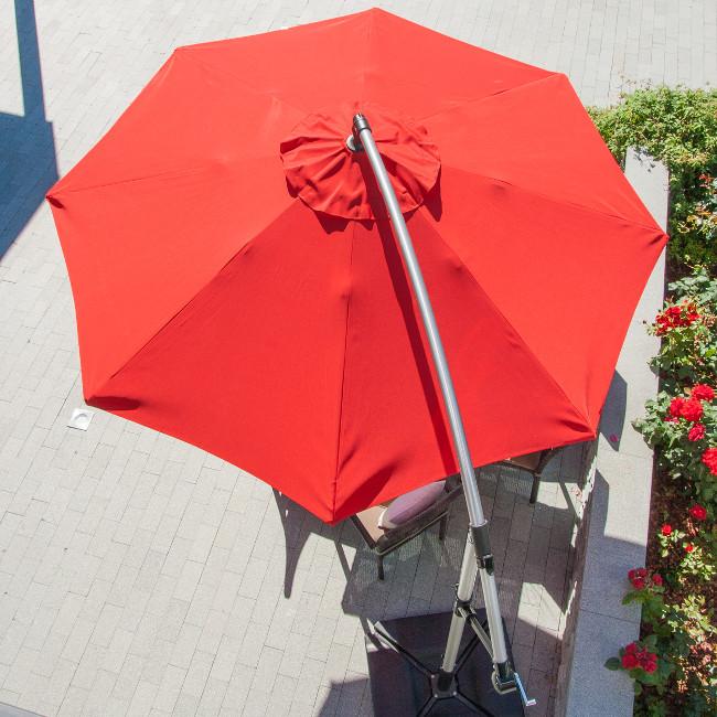Сонцезахисна парасоля Capri (11784) купити на сайті Shezlongi.Com.UA • Круглі парасолі Garden4You