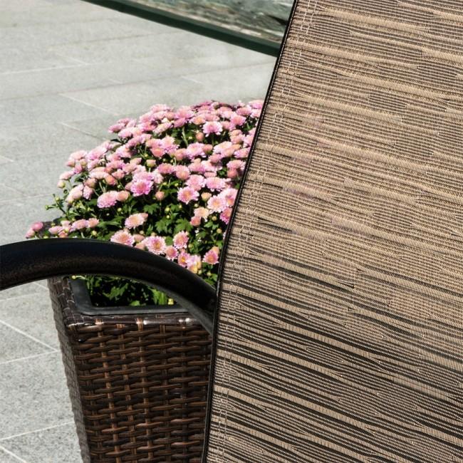 Шезлонг Montreal (11734) купити на сайті Shezlongi.Com.UA • Металеві шезлонги Garden4You