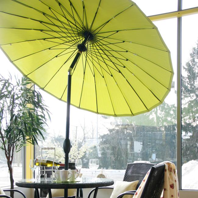 Парасоля Shanghai (11810) купити на сайті Shezlongi.Com.UA • Круглі парасолі Garden4You