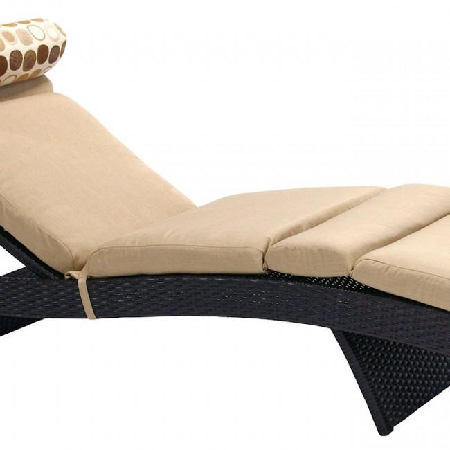 Шезлонг Stella Dark Brown (13142) купити на сайті Shezlongi.Com.UA • Шезлонги зі штучного ротангу Garden4You
