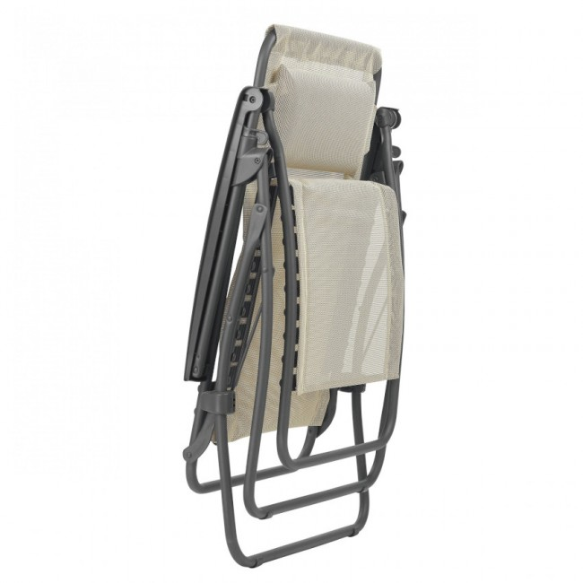 Крісло-шезлонг Lafuma R Clip Classic (LFM4020-8548) купити на сайті Shezlongi.Com.UA • Металеві шезлонги Lafuma