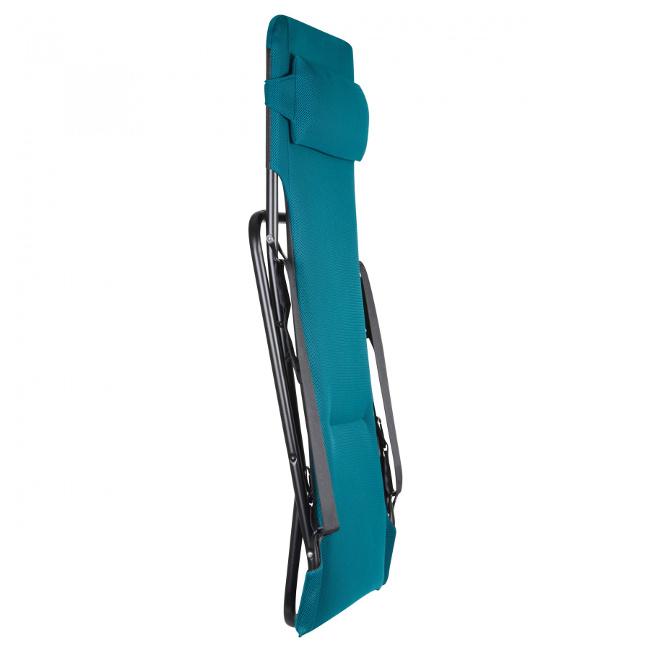 Крісло-шезлонг Transabed Coral Blue (lfm2459-6893) купити на сайті Shezlongi.Com.UA • Металеві шезлонги Lafuma