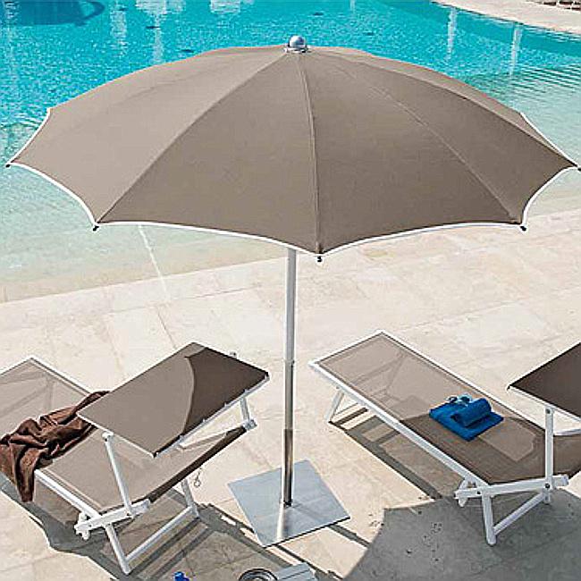 Пляжна парасоля Cezanne (63200926) купити на сайті Shezlongi.Com.UA • Круглі парасолі Magnani