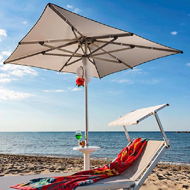 Парасоля Picasso Beach (63250250) купити на сайті Shezlongi.Com.UA • Квадратні парасолі Magnani