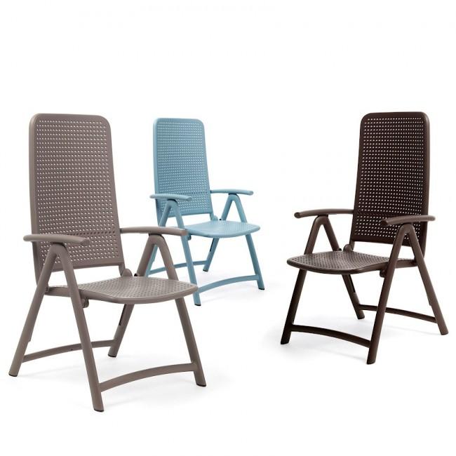 Крісло-шезлонг Darsena Caffe (40316.05.000) купити на сайті Shezlongi.Com.UA • Пластикові шезлонги Nardi