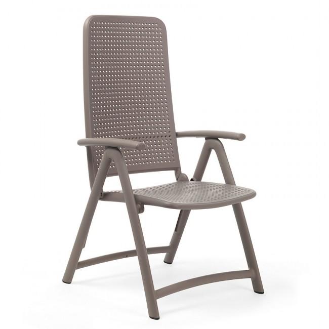 Крісло-шезлонг Darsena Tortora (40316.10.000) купити на сайті Shezlongi.Com.UA • Пластикові шезлонги Nardi
