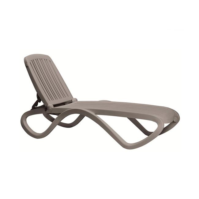 Шезлонг Tropico Tortora (40413.10.000) купити на сайті Shezlongi.Com.UA • Пластикові шезлонги Nardi